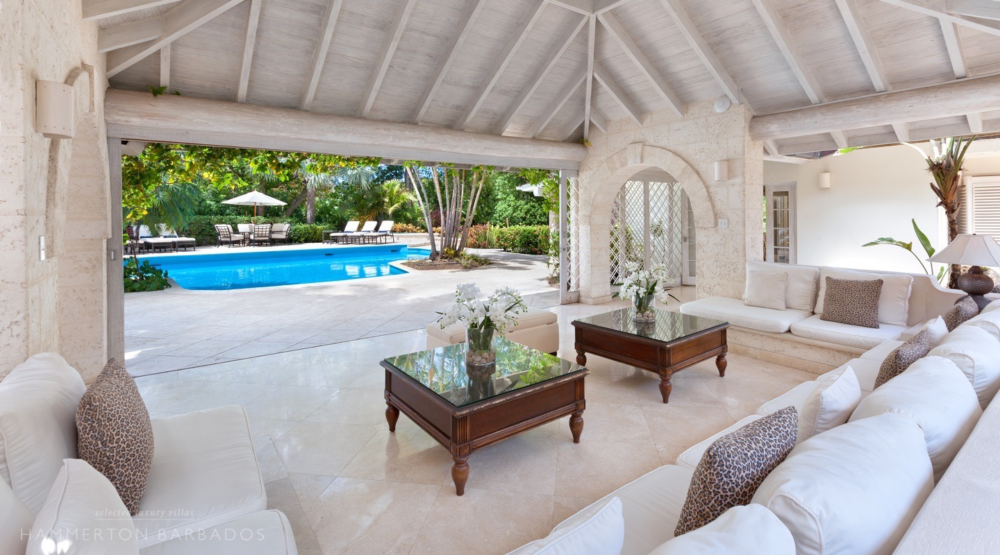 Bluff House villa in Sandy Lane, Barbados