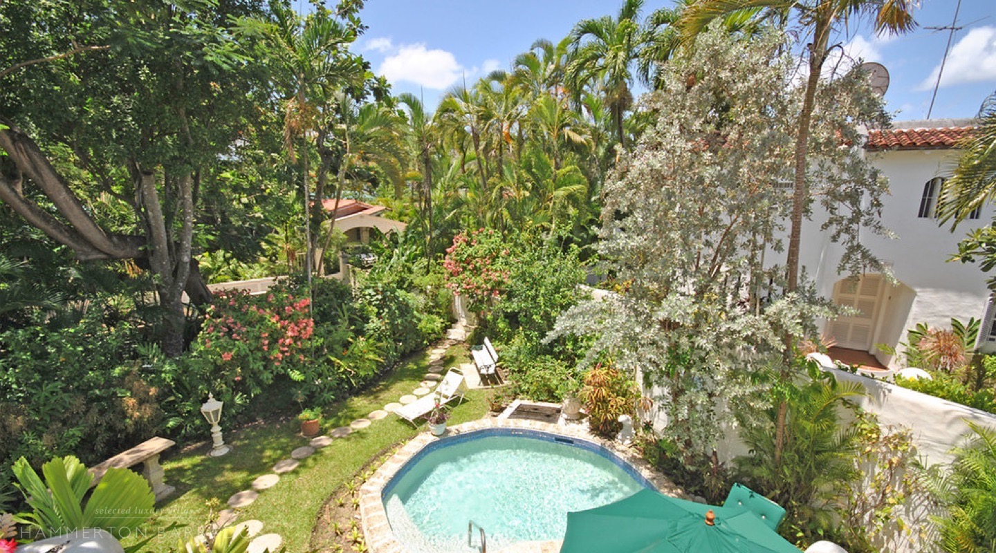 Merlin Bay - Secret Garden villa in The Garden, Barbados
